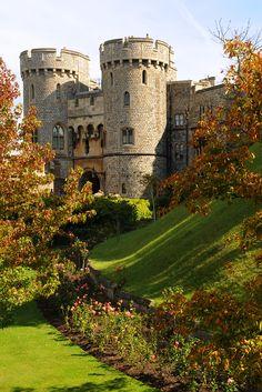 Windsor Castle, just outside of London, England