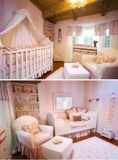 adorable-Tori Spellings Nursery