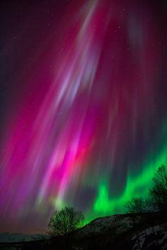 Red Dawn   Aurora by Anders Hansen