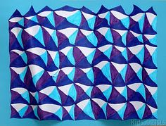 Op art! Step-by-step instructions to create design