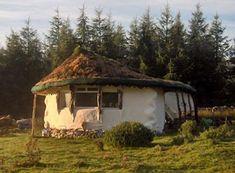 Straw bale house in scotland
