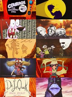 Courage The Cowardly dog.