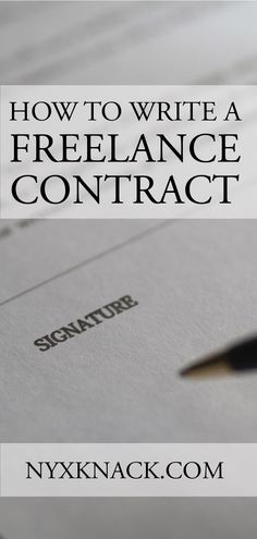 Creating a freelance