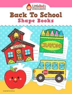 shape book, school shape, school buses, back to school