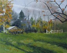"""""""Afternoon at Jean's 2 ~16x20 ~ oil on canvas"""" - Original Fine Art for Sale - © Vincenza Harrity"""