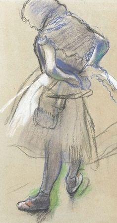 Edgar Degas , 1834 -1917 Paris dancer
