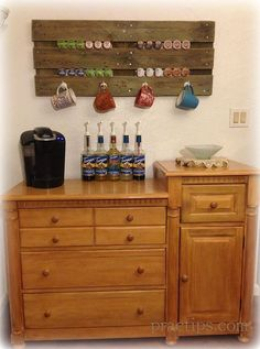 Organize your coffee station, DIY style!>>