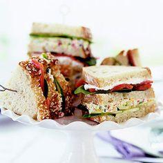 Smoked Salmon Club Sandwich Recipe