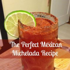 The perfect savory + spicy recipe for a Michelada, a Mexican beer cocktail | http://www.everintransit.com/mexican-michelada-recipe/