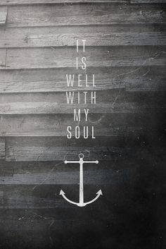 Hope is the anchor for our soul Hebrews 6:19