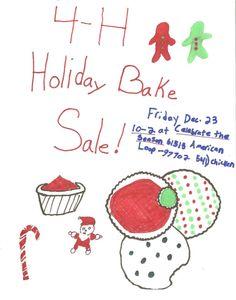 4H Bake sale fundraiser
