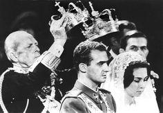 14 de mayo de 1962: Boda de Juan Carlos y Sofía, actuales reyes de España.