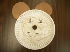 bear craft preschool bear, teddi bear, teddy bears, bear craft, bear theme, paper plate, brown bear