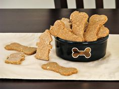 PB & oats dog treats dinner, peanuts, dogs, doggie treats, pet, doggi treat, dog treat recipes, dog biscuits, homemade peanut butter