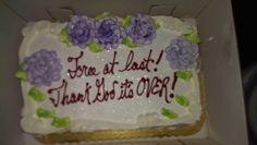 My divorce cake
