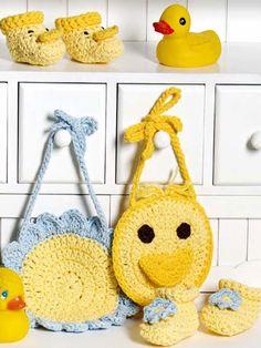Bibs & Booties free crochet pattern