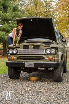 Miss Mopar and The Dodge Power Wagon Facebook.com/MissMopar
