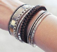 DIY leather lanyard bracelet!