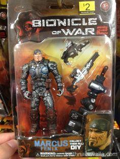 Bionicle of War 2 – Fake Gears of War figures