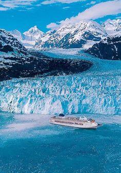 Alaskan glaciers.