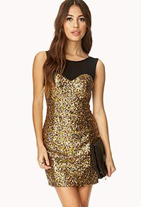 Bombshell Sequined Dress #shoppricelesscontest