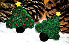 DIY : Arbolitos de Fieltro para decorar esta Navidad