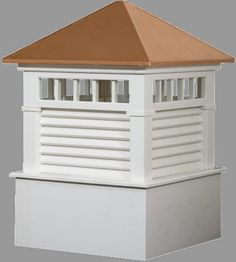 Waterford style cupola for your house-barn-gazebo or shed roof.