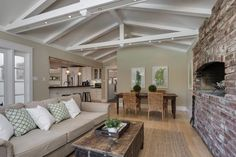 Open Kitchen Family Area Room   Kitchen Design Inspiration - Lafayette CA Homes Staged to Sell