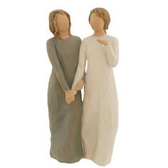 My Sister, My Friend Willow Tree Figurine #willowtree #sister #friend #love #valentine #Bronners $33.00