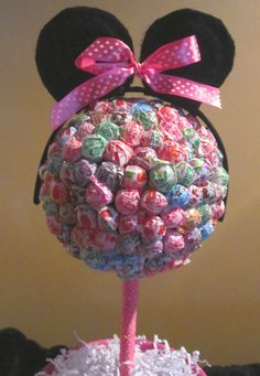 Lollipop Tree Minnie Mouse Inspired by valv22 on Etsy, $45.00