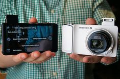 Galaxy Camera with Android Jelly Bean, massive 4.8 inch display, 21x zoom, WiFi and 4G connectivity handson video