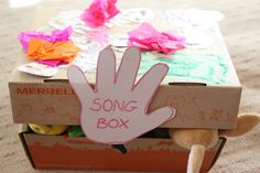 music idea, hands, singing, songs, craft idea, music boxes, music activ, song box, kid