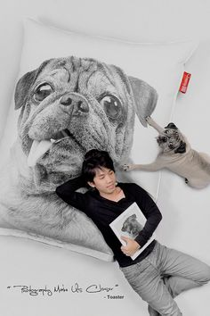 Pug Bean Bag by FreeasyBeanBag on Etsy, $199.00