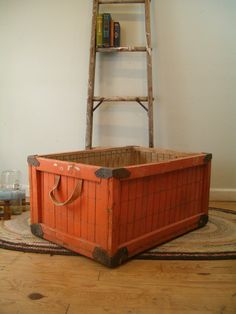 Love this old crate ♥.