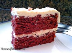 An American Housewife: Milk Chocolate Cake - Similar but not quite Red Velvet Cake (low carb and sugar free)