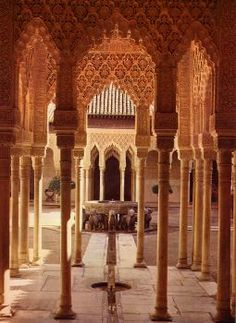 Patios de los leones - Alhambra - Granada