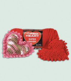 sweetheart sachet - free crochet pattern