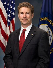 Senator Rand Paul - supporter of Tea Party