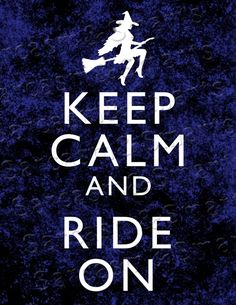 Witchy Ride Saying