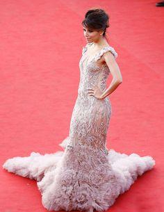 Eva Longoria in Marchesa at the Cannes Film Festival 2012
