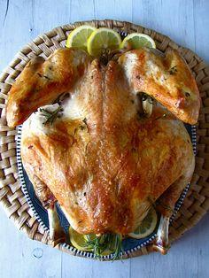 Flat Roasted Turkey