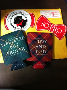 Koozies | So-Pro...southern prep... love it! Plastered but proper, tipsy ans tied.