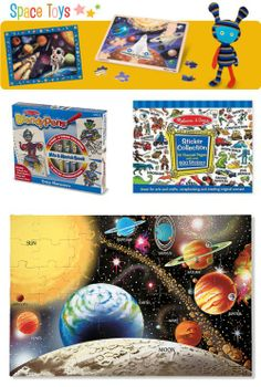 {top Space Toys} 5, 4, 3, 2, 1 . . . Let imaginations blast off!