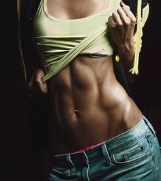Working for these abs!