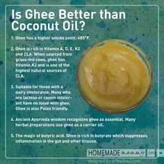 5 Ways Ghee is More Awesome Than Coconut Oil | www.homemademommy.net #article #healthyfats