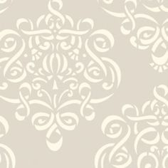 Dena Fishbein - Taza - Ribbon Damask in Neutral