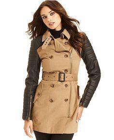 Perfect trench coat!  #macysfallstyle