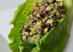 Black Bean Lettuce Bundles from Eat for Health by Joel Fuhrman