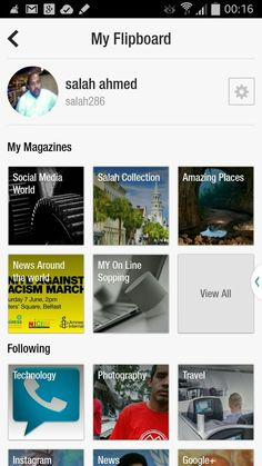 My magazines at Flipboard