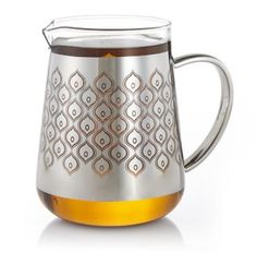 Patterned Chai Glass Pitcher, $24.95 on teavana.com.